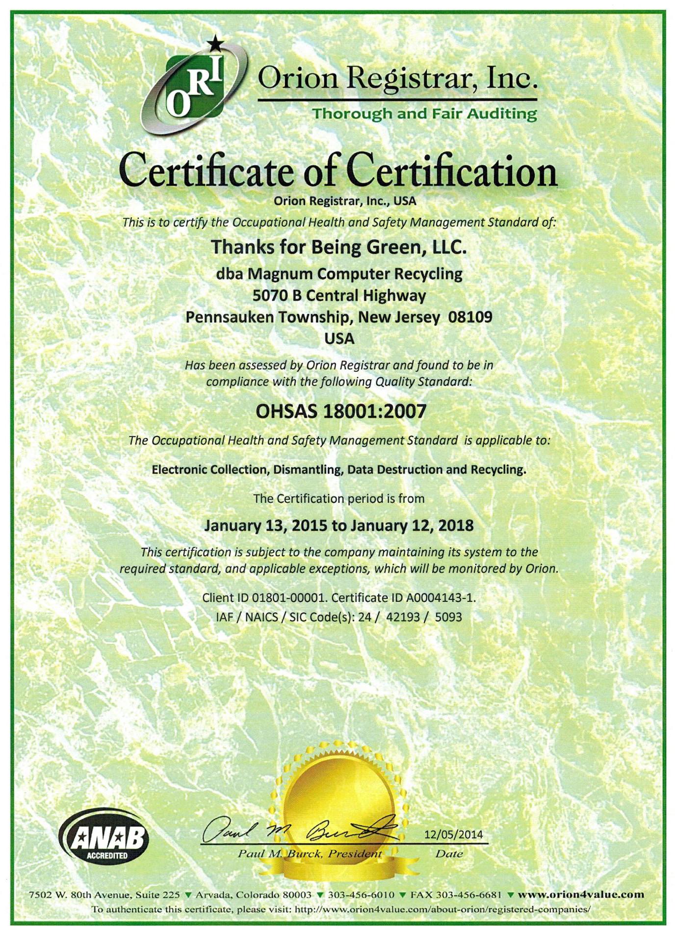 OHSAS_18001_Certificate